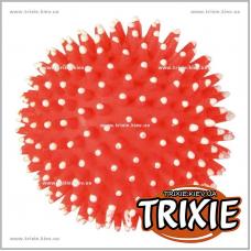 Виниловый мяч-ёж для собак TRIXIE