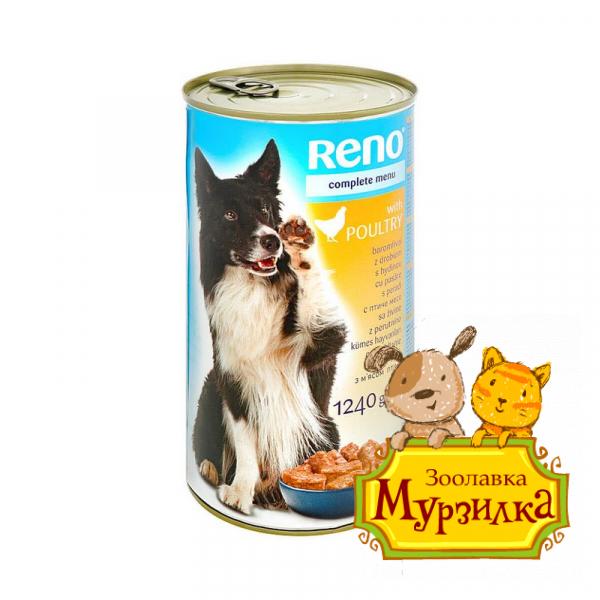 Reno Консервы для собак птица 415г
