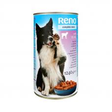 Reno Консервы для собак телятина 1240г